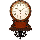 Large Selection Of Restored English Dial Clocks Also